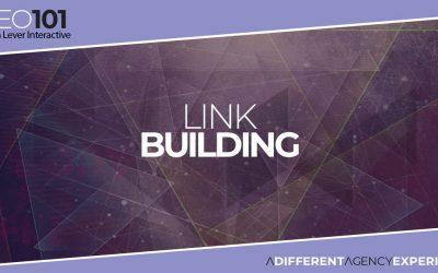 SEO101: Link Building
