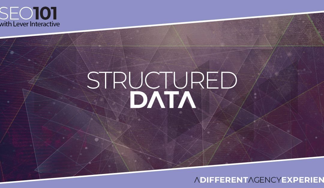 SEO101: Structured Data